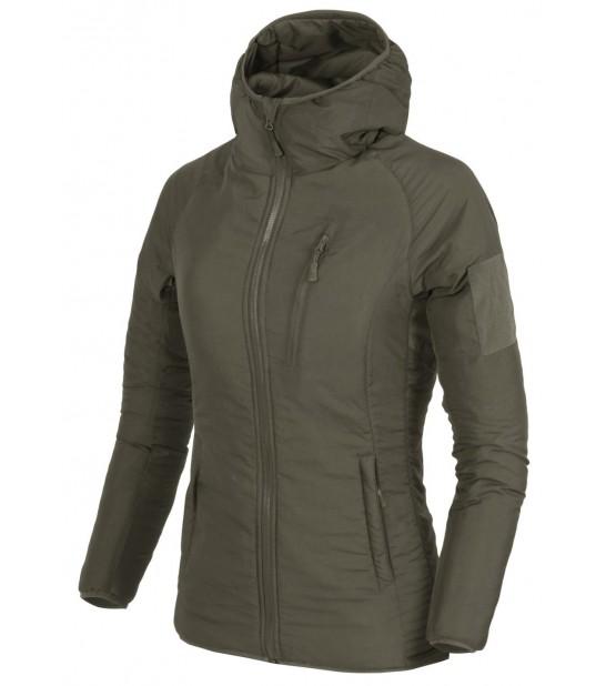 Куртка женская WOLFHOUND HOODIE - CLIMASHIELD APEX 67G TaigaGreen